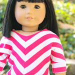 Sew a Trendy Striped Shirt for Dolls