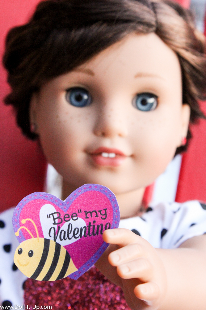 Mini Printable Valentines for Dolls