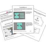 Fan Spread Ruffled Tankini Pattern Pages