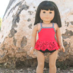 Ruffled Tankini Swimsuit Pattern-2