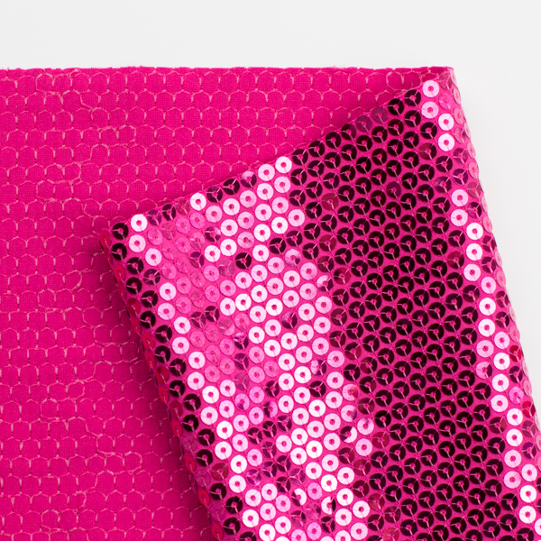 How to sew knit sequin fabric